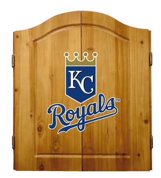Kansas City Royals Complete Dart Cabinet