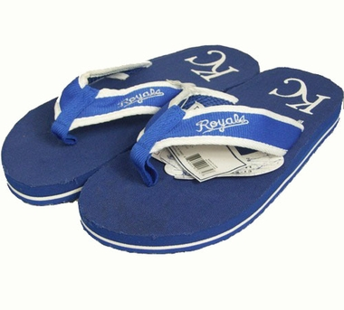 Kansas City Royals Contoured Flip Flop Sandals