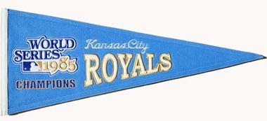 Kansas City Royals Cooperstown Wool Pennant