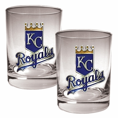 Kansas City Royals Double Rocks Set