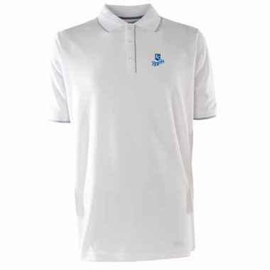 Kansas City Royals Mens Elite Polo Shirt (Color: White)