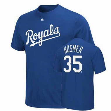 Kansas City Royals Eric Hosmer Player T-Shirt - Royal