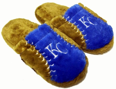 Kansas City Royals Fuzzy Slippers
