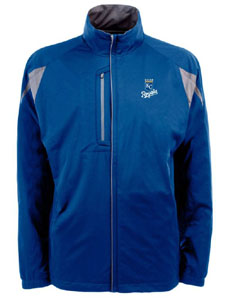 Kansas City Royals Mens Highland Water Resistant Jacket (Team Color: Royal) - Large