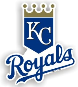 Kansas City Royals Individual Car Magnet