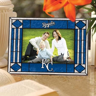 Kansas City Royals Landscape Art Glass Picture Frame