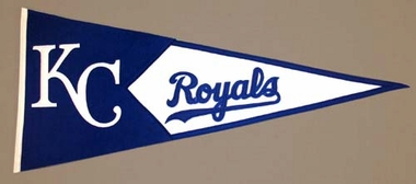 Kansas City Royals Large Wool Pennant