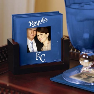 Kansas City Royals Photo Coaster Set