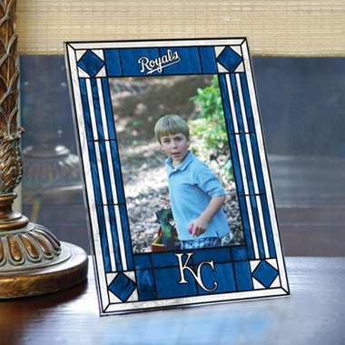 Kansas City Royals Portrait Art Glass Picture Frame