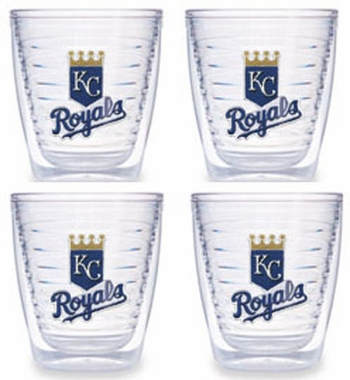 Kansas City Royals Set of FOUR 12 oz. Tervis Tumblers