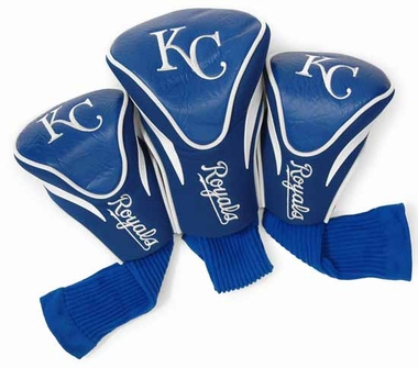 Kansas City Royals Set of Three Contour Headcovers