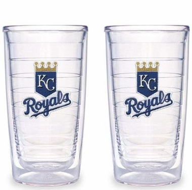 Kansas City Royals Set of TWO 16 oz. Tervis Tumblers