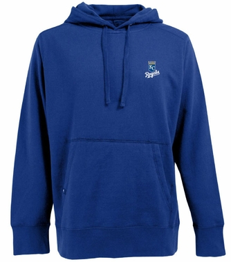 Kansas City Royals Mens Signature Hooded Sweatshirt (Team Color: Royal)