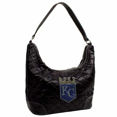 Kansas City Royals Sport Noir Quilted Hobo