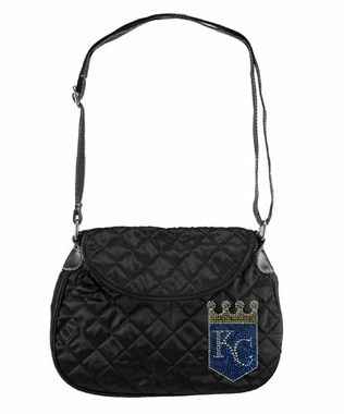 Kansas City Royals Sport Noir Quilted Saddlebag