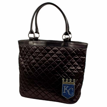 Kansas City Royals Sport Noir Quilted Tote