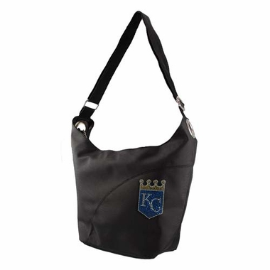 Kansas City Royals Sport Noir Sheen Hobo Purse
