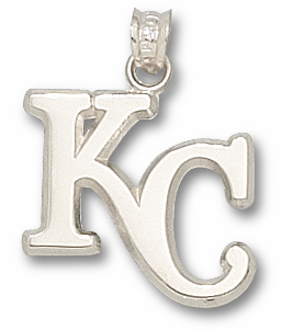 Kansas City Royals Sterling Silver Pendant