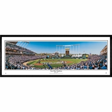 Kansas City Royals True Blue Tradition Framed Panoramic Print