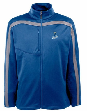 Kansas City Royals Mens Viper Full Zip Performance Jacket (Team Color: Royal)