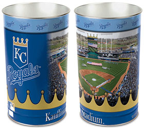 Kansas City Royals Waste Basket
