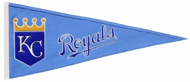 Kansas City Royals Wool Pennant