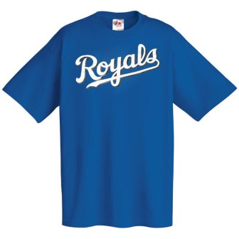 Kansas City Royals Wordmark T-Shirt