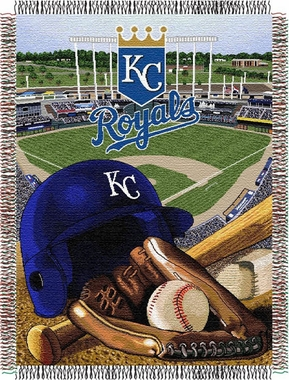 Kansas City Royals Woven Tapestry Blanket