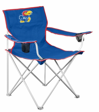 Kansas Deluxe Adult Folding Logo Chair