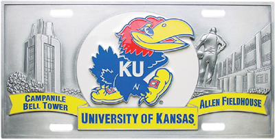 Kansas Deluxe Collector's License Plate