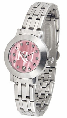 Kansas Dynasty Women's Mother of Pearl Watch