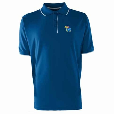 Kansas Mens Elite Polo Shirt (Color: Royal)