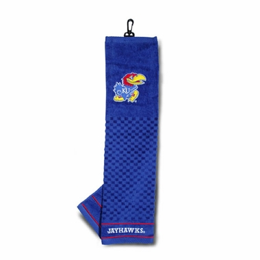 Kansas Embroidered Golf Towel