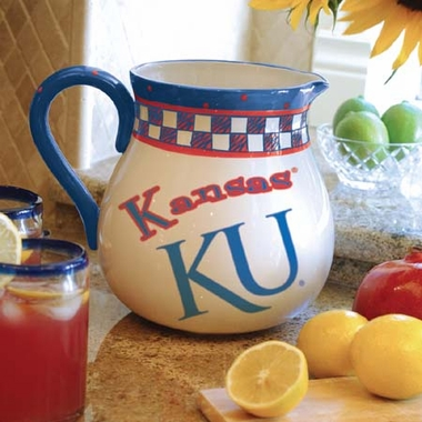 Kansas Gameday Ceramic Pitcher