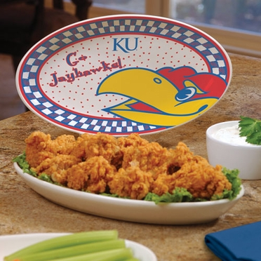 Kansas Gameday Ceramic Platter
