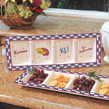Kansas Gameday Relish Tray