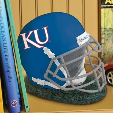 Kansas Helmet Shaped Bank