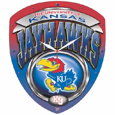 Kansas High Definition Wall Clock