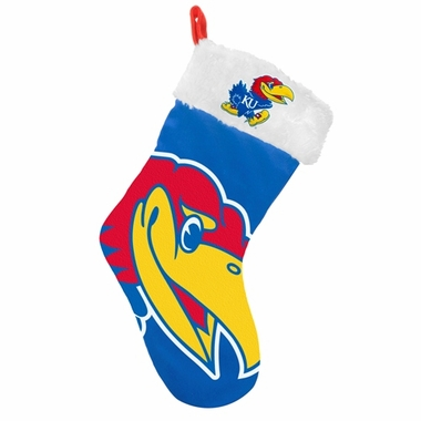 Kansas Jayhawks 2012 Big Logo Plush Stocking