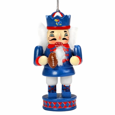Kansas Jayhawks 2012 Nutcracker Ornament