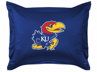 Kansas Jersey Material Pillow Sham