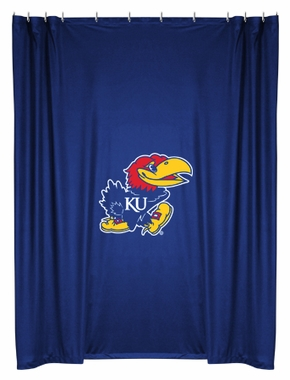 Kansas Jersey Material Shower Curtain