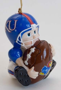 Kansas Lil Fan Ornaments (Set of 2)