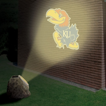Kansas Logo Projection Rock