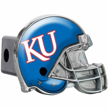 Kansas Metal Helmet Trailer Hitch Cover