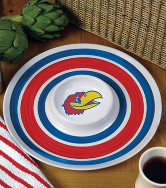 Kansas Plastic Chip and Dip Plate