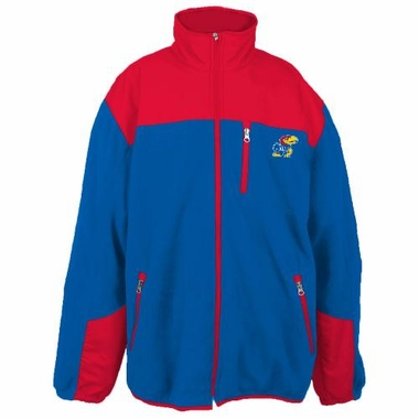 Kansas Poly Dobby Full Zip Polar Fleece Jacket