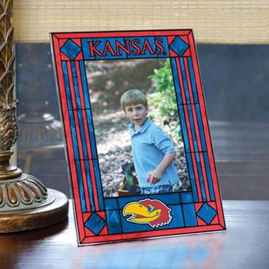 Kansas Portrait Art Glass Picture Frame