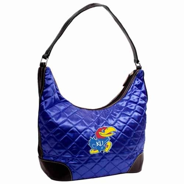 Kansas Quilted Hobo Purse