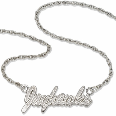 Kansas Script Necklace